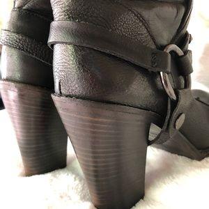 Vera Wang Shoes - Vera Wang black stud details long boots